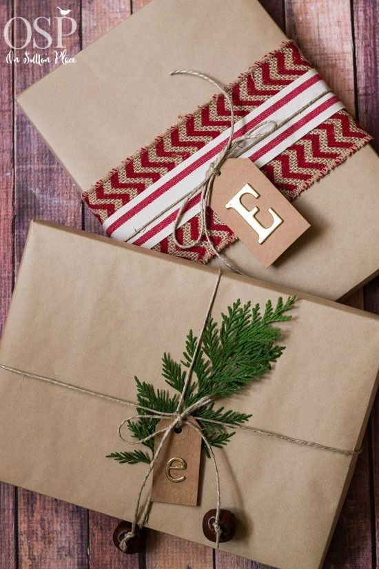 Christmas Gift Wrapping Ideas | Easy, inexpensive and festive! | onsuttonplace.com