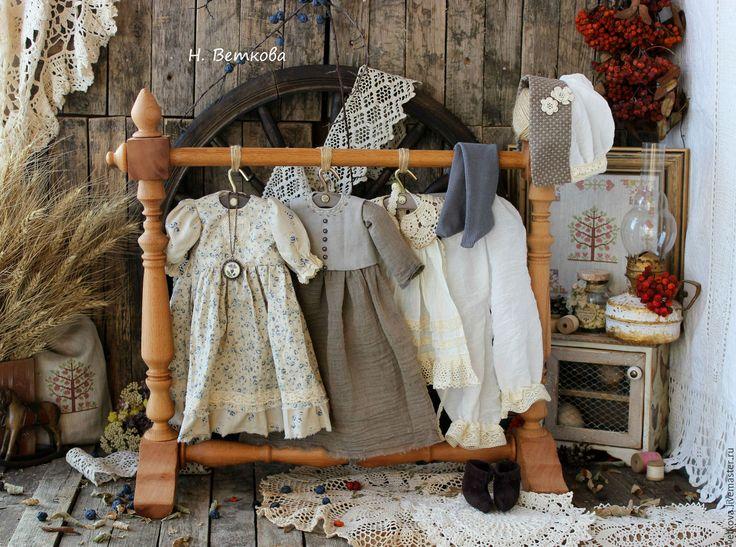 Купить Зоенька интерьерная текстильная коллекционная кукла подарок - голубой, бежевый, кукла, текстильная кукла