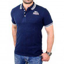 Lonsdale Poloshirt Herren YALDING Stretch Fit Shirt LD-114764 Navyblau XL