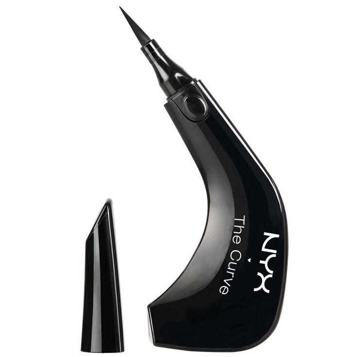 NYX The Curve Felt Tip Eye Liner Jet Black TC01 #NYX