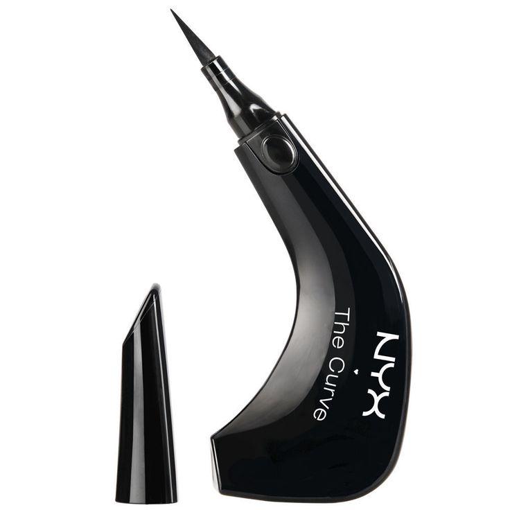 NYX The Curve Felt Tip Eye Liner Jet Black TC01 #NYX