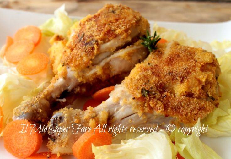 Cosce di pollo in padella croccanti dorate e gustose ricetta il mio saper fare