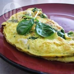 Omlet ze szpinakiem @ allrecipes.pl