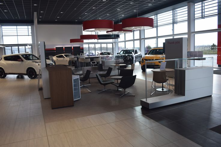 The cars have now been put in the brand new Nissan showroom. We open 28th December!