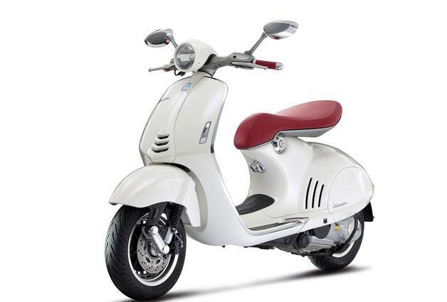 Modernized Italian Scooters : Vespa 946