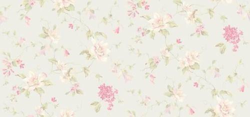 Fondo celeste muy claro con flores rosadas | Fondos Vintage ...