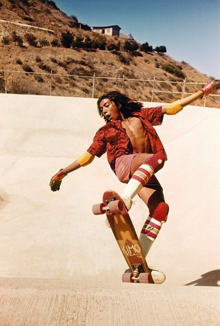 rediscovered photos of the 70s hollywood skate scene | Photographer Hugh Holland