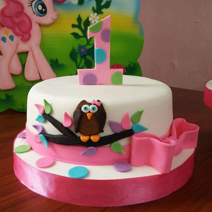 Cake un añito búho #cakesfantasy