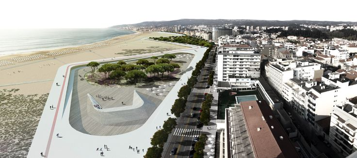 Second Prize for Beach and Seafront of Figueira da Foz and Buarcos by RUA