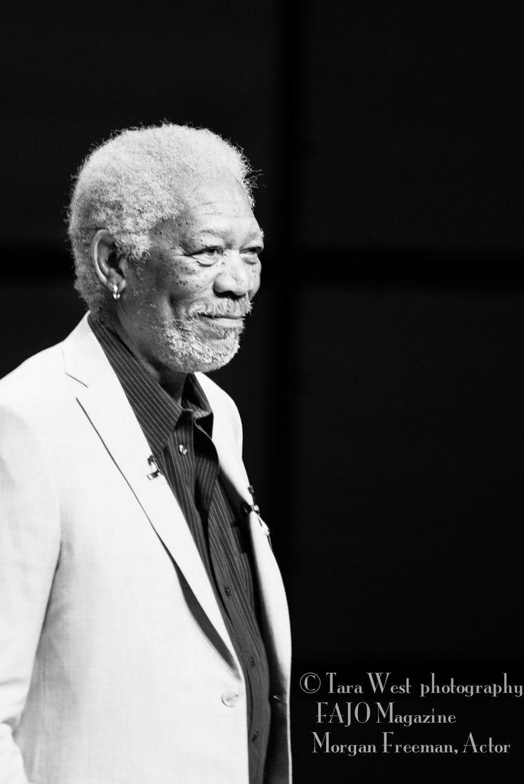 Morgan Freeman, Actor For FAJO Magazine Tara West Photography