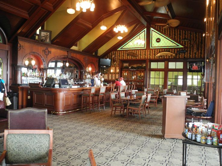 Zane Grey Lounge in the Worldwide Sportsman at Islamorada in the Florida Key's. Perfect for drinks, but so so for food.