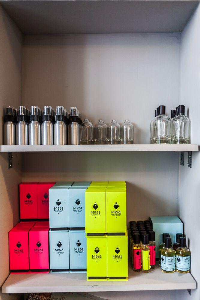 Mokotowska loftowa: Perfumeria Mo61