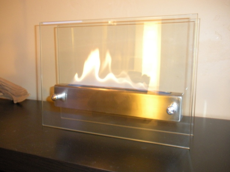 Tabletop Indoor Fireplace  Bio Ethanol Fire by AuraWaterfalls, $180.00