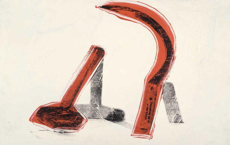 'Faucille et le marteau' de Andy Warhol (1928-1987, United States)