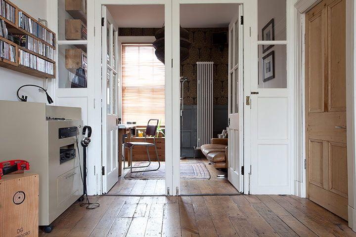 House in Wigan, simple, 100 year old floor.