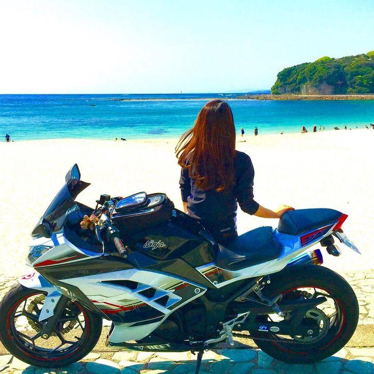 GW…ツーリングで始まり サーキットで終わる‼️ 最高やん‼️(*゚∀゚*) . 充実したholidayでした♡ . また GWの様子は ブログ FBでupします .  さぁ〜 東京とbye-byeして大阪に帰るよ〜(´∀`)♡♡ . . . . #gw #ツーリング#バイク女子 #バイクのある風景 #sea  #ninja #ninja250 #girl #beet #サーキット #kawasaki #富士スピードウェイ #スーパーgt #温泉 #ツインリンクもてぎ#de耐 #honda #レースクイーン #taichi  #instapic #instagood  #happy #bike #ツーリング #楽しい #和歌山 #白良浜 #sea ##kawasaki  #motorbike #motorcyclegirl #motorcycle #バイク好きな人と繋がりたい