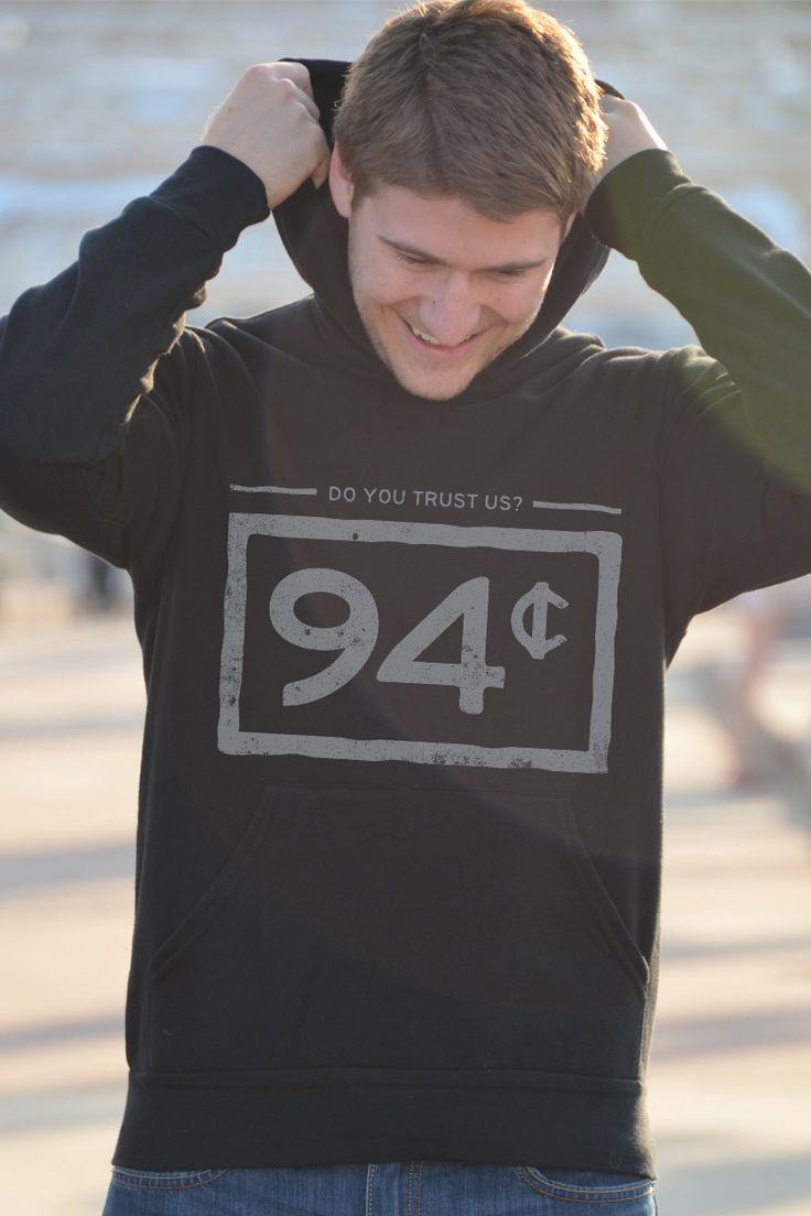 94 cents of every dollar Black Hoodie