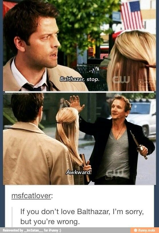 One of my very favorite scenes on all of Supernatural. So funny!