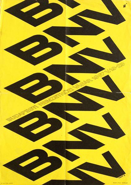 Budapest International Fair '67 (Papp, Gábor - 1967 - cca. 30 x 42 cm)