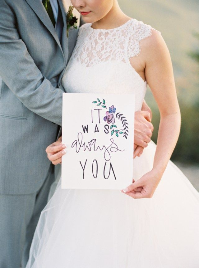 Mountaintop Elopement Wedding Inspiration | Photos by Allen Tsai