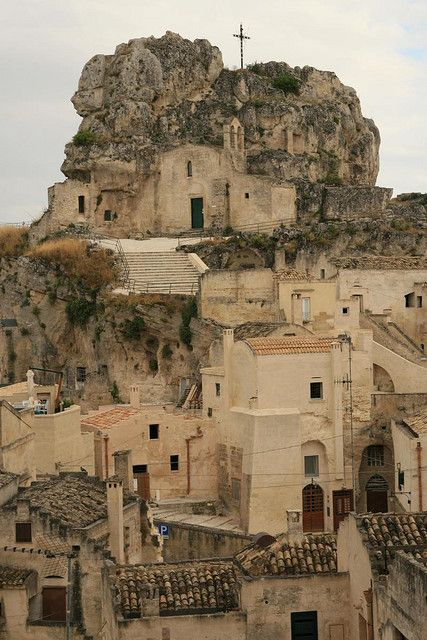 Matera (Italy) is a town and a province in the region of Basilicata, in southern Italy. It is the capital of the province of Matera
