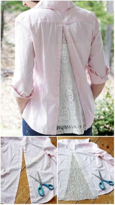 Comment élargir une chemise trop petite.14 Astuces pour faire ses propres retouches de vêtements
