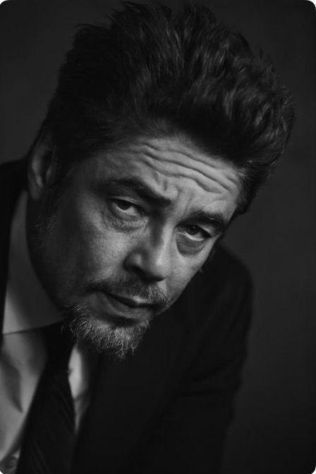 Benicio Del Toro - Those eyes...soulful decadence.