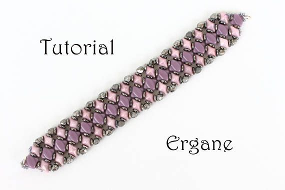This is a tutorial in pdf file.   It's great fun to make your own jewelry. Im sure You can do it! Just pick up Your favorite colors, and follow instructions in tutorial.  This tutorial is for beginner Beader. The tutorial contains fully illustrated from start to finish steps with complete explanation.