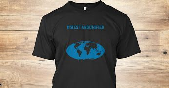 Google+We are ONE WORLD AGAINST TERROR #Tshirts Show you are not afraid of terrorists   https://teespring.com/saynototerrorism