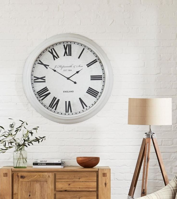 Cream Extra Large Clock from Next