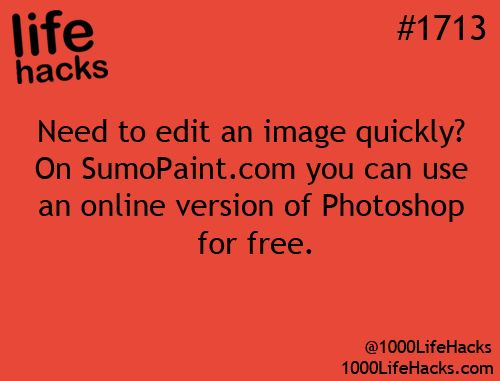 Photoshop editing for free