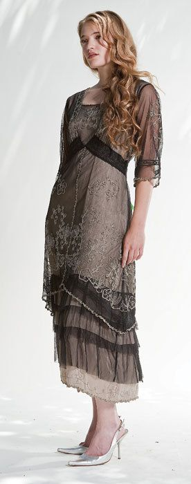"""""""Vintage Tea Gown"""" from Victorian Trading Co."""