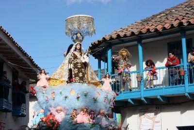 Festividad de la Virgen Del Carmen - Paucartambo 2015