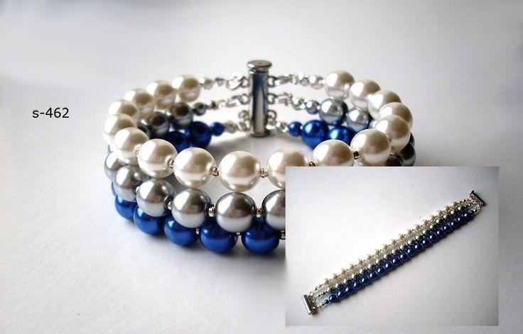 Dárek pro družičky. Luxusná svadobná bižutérie, perly, swarovski, úpravy na přání, svatební náušnice, náramky, náhrdelníky, vintage style, boho style, glamour style,... Vyberte barevnou kombinaci a my Vám uděláme exkluzívní kousek jenom pro Vás