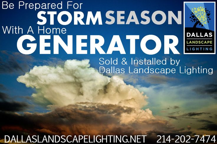 At least once this #spring you can expect a #powerfail  so plan for one with a #generator sold/installed by #DallasLandscapeLighting 214-202-7474 http://www.dallaslandscapelighting.net/ #generators #powerfailure #poweroutage #dallas #highlandparktx #friscotx #planotx #blackout