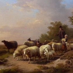anton mauve tending the flock quotone eye sees the other