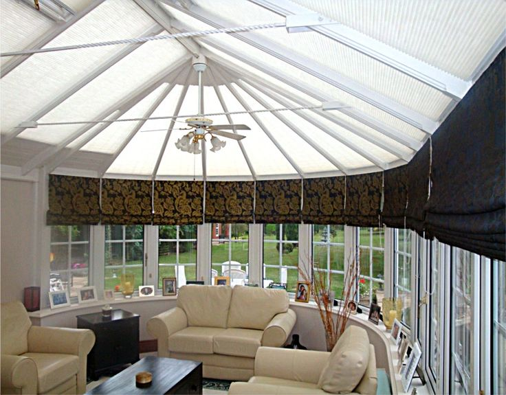 conservatory lighting ideas. a guide to the various types of conservatory roof blinds and side such as roller lighting ideas