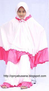 Pray Clothes Child - Mukena children made of materials Hyget Super