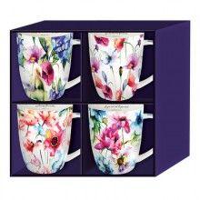Mug-Seeds Of Love-Set Of 4