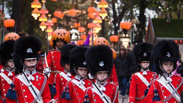 Хэллоуин в Тиволи #Denmark #Copenhagen