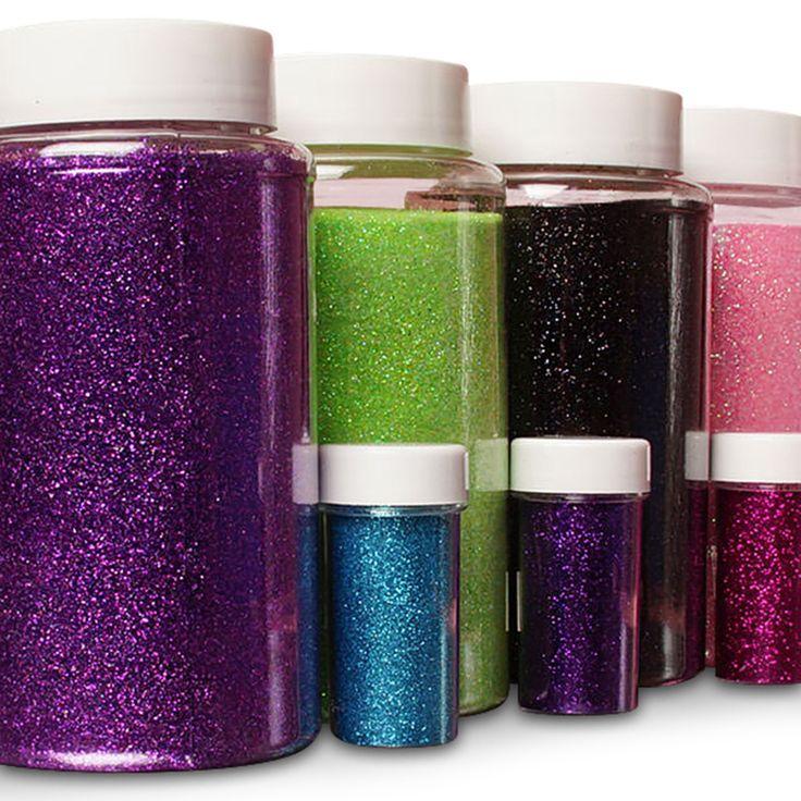Extra feinkörniger Metallic-Glitter