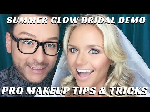Summer Glow Bridal Makeup Tutorial Part 2 Complexion Tips and Tricks - m...