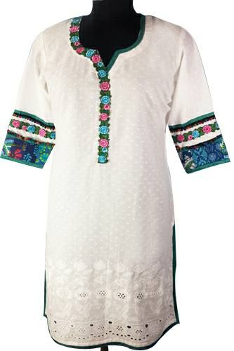 Cotton #kurtis for #office wear http://bit.ly/2wdz47i