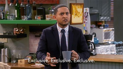 """S5 Ep17 """"The Love Seat"""" - Tucker thoughts.  #BabyDaddy"""