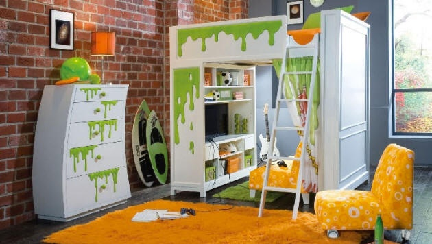 Slimed Furniture Ghostbuster Bedroom Pinterest