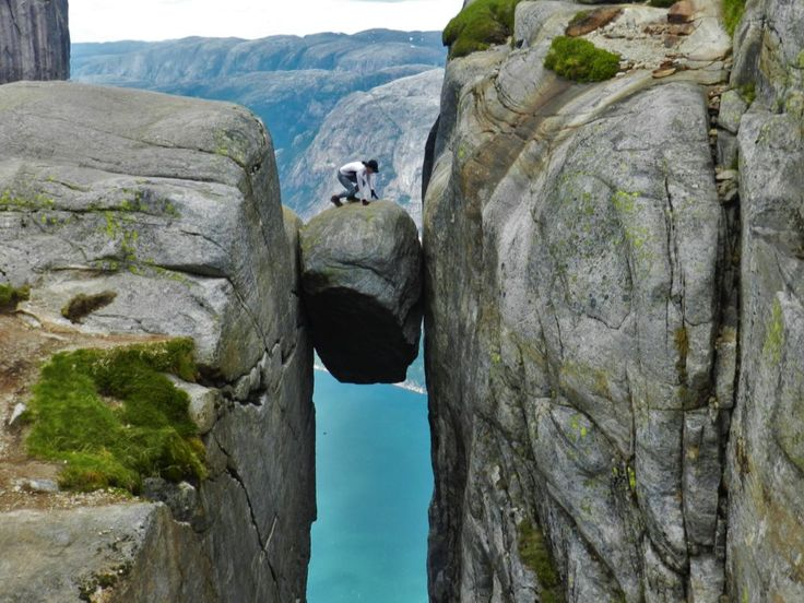 Climbing Kjerag - The Jump and The Jelly Legs... Find out what happened when I went a 'little' off route up Kjerag mountain, leading to a leap of faith... I still shake at the thought of the jump!