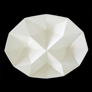 I love the Origami series by Kaj Franck for Arabia, Finland.  Early 1960s.