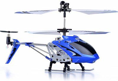 Hélicoptère RC Syma S107G avec Gyro – Bleu | Your #1 Source for Toys and Games