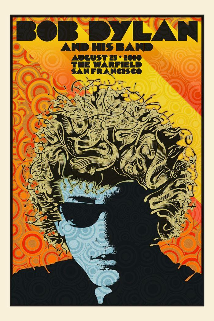 Bob Dylan San Francisco 2010 by Chuck Sperry
