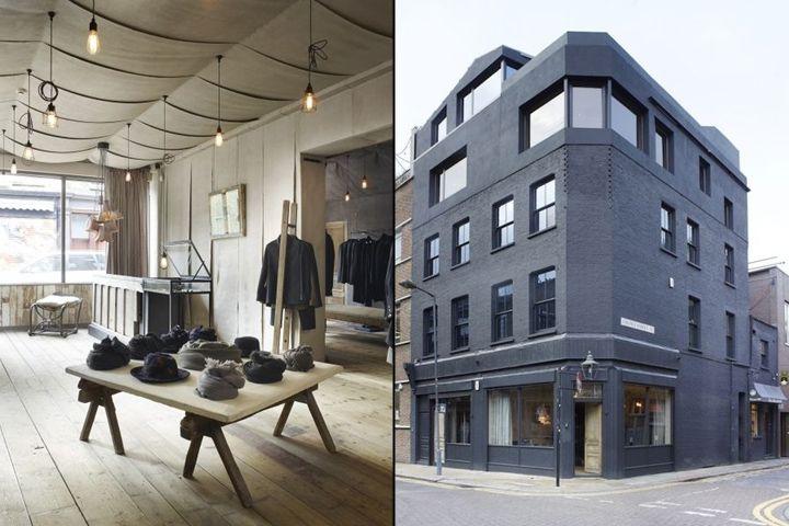 Hostem store by JamespPlumb, London - UK